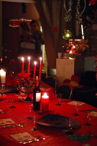 Cena di natale   (per 12 persone)