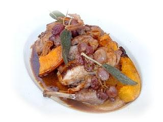 castagne coniglio e zucca