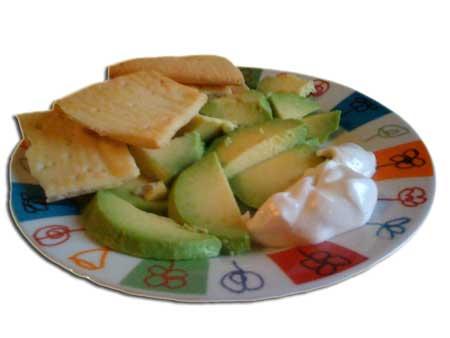 Avocado e Maionese