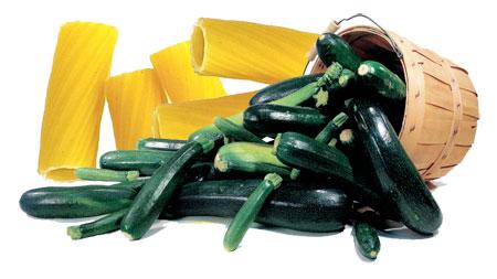 Rigatoni alle zucchine