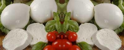 tagliolini bimby con bufala e pomodorini